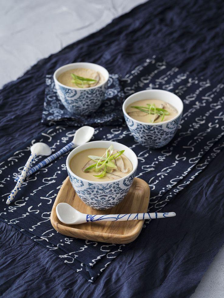 Chawanmushi (Japanese savoury custard) | Thermomix | Good food, gluten free