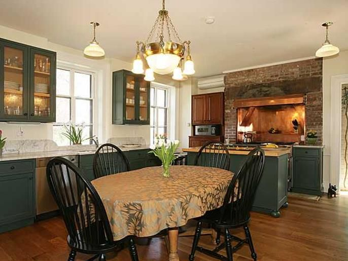 New Kitchen In Century Gothic House At 122 South Franklin Street In Nyack,  N.