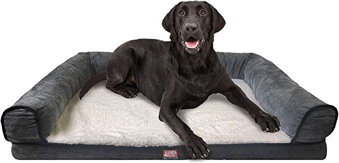 Animal Planet Orthopedic Luxury Dog Bed Premium Memory Foam Pet