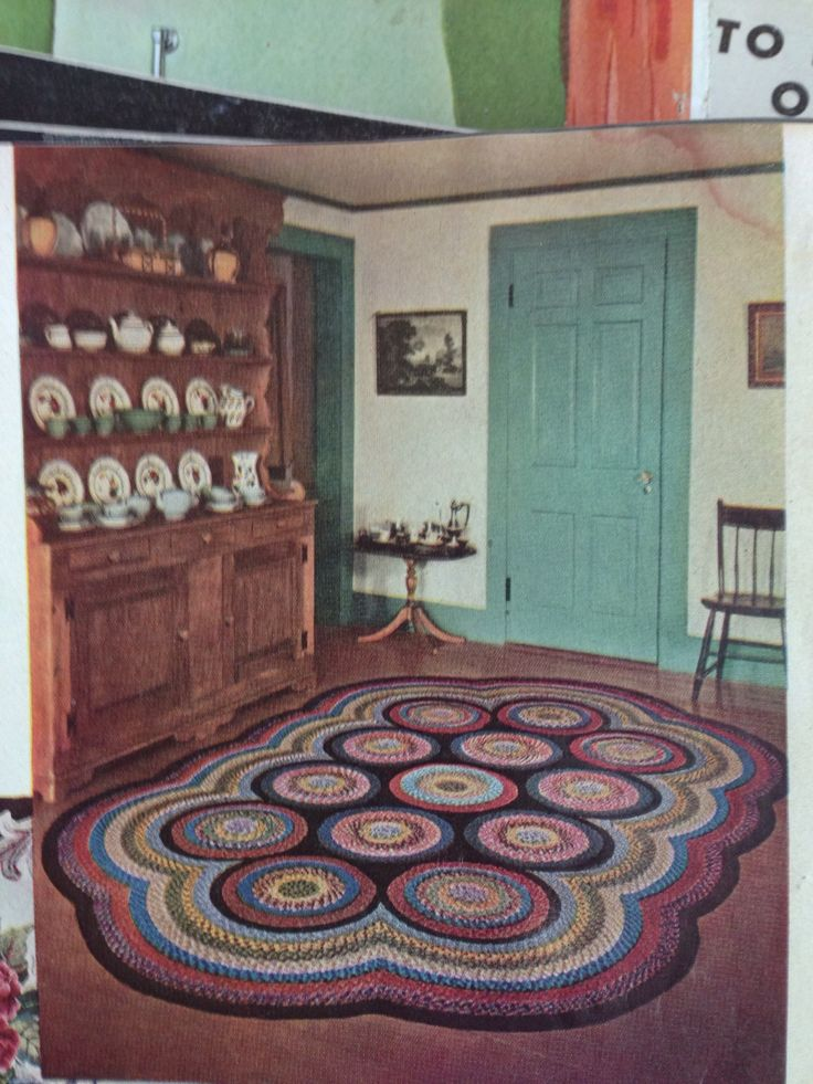 Great braided rug