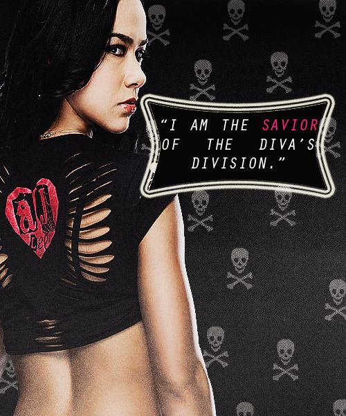 AJ Lee is a One Girl Revolution