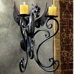 Design Toscano Marshgate Castle Dragon Sculptural Electric Wall Sconce & Reviews | Wayfair