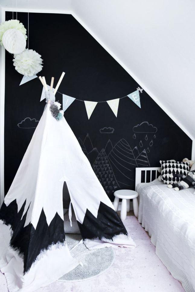 pin by nina gordon on i 39 ll be in my teepee pinterest tendances enfant et noir. Black Bedroom Furniture Sets. Home Design Ideas