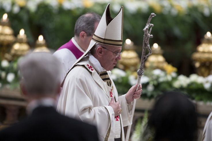 New Saints: How the Vatican Decides on Its Holy Heroes. Pope Francis (shown here during an Easter vigil mass) declared Popes John XXIII and John Paul II saints on April 27, 2014 during a canonization ceremony.
