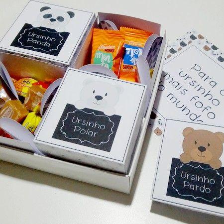 DIY: Caixinha para namorado(a) ursinho(a)