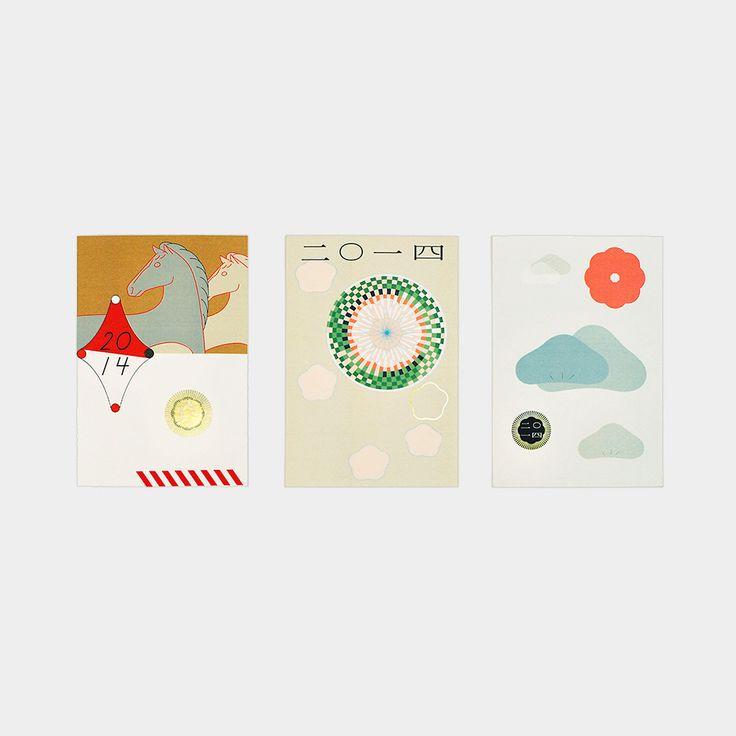 年賀状2014版画アソート:(Eriko Kawakami,2013) MoMA STOREの通販 | モダンでアートなワークスペース、カード・レターセットを通信販売で