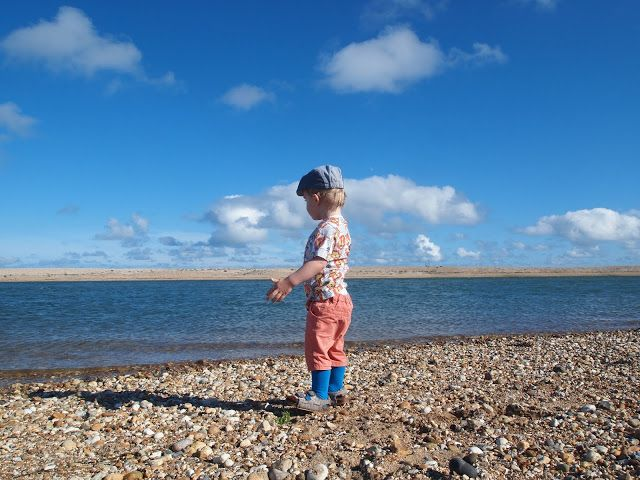 Mrs Bishop's Bakes and Banter: At Pagham Beach for Bert's 2nd Birthday...