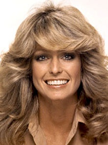 1970 Hairstyles outstanding afros 1970s Hairstyle Farrah Fawcett