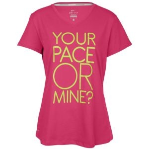 Nike Nike Your Pace Or Mine T-Shirt - Women's - Running - Clothing - Rave Pink