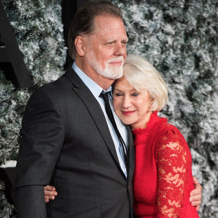 Helen Mirren and Taylor Hackford Look Smitten at the Collateral Beauty London Premiere