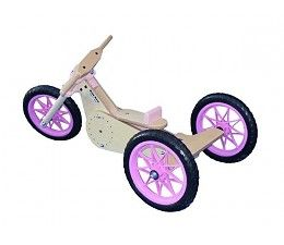 Baby Moto - Trike roze  http://www.planethappy.nl/baby-moto-trike-roze.html