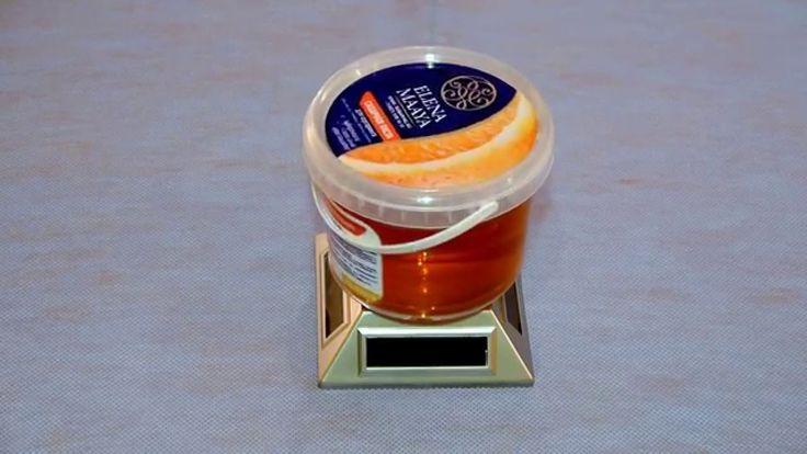 Паста для шугаринга «Елена Маая» с добавлением эфирного масла апельсина