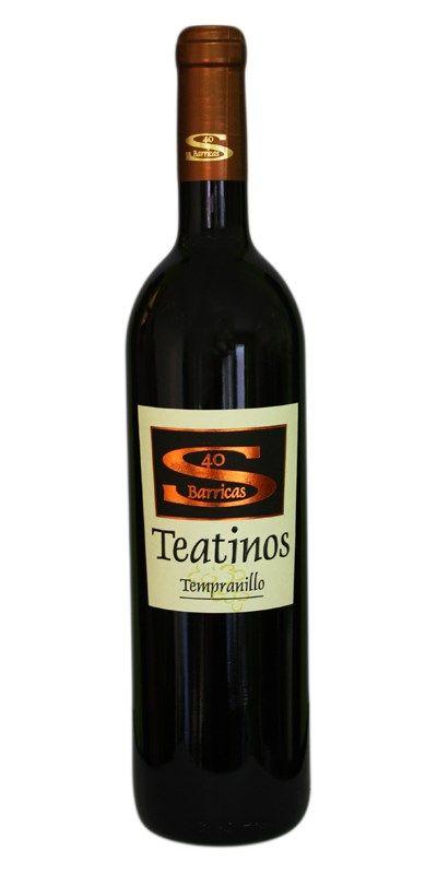 TEATINOS 40 BARRICAS Descuento del 33%  Bodega: Teatinos Variedad: Tempranillo Tipo: Tinto D.O.: Ribera del Júcar  Saber más: www.vinosdecuenca.es/comprar-vino/teatinos-40-barricas-reserva