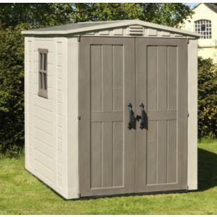 keter factor plastic garden shed home delivered 7290103664930