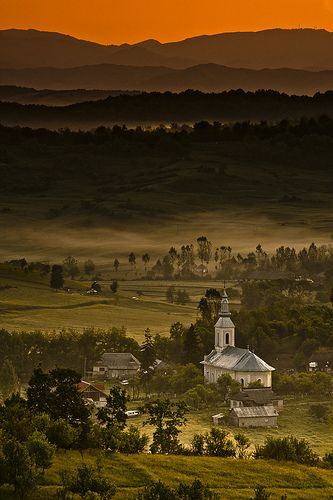Transylvania landscape, the land of Dracula, Romania. romaniasfriends.com