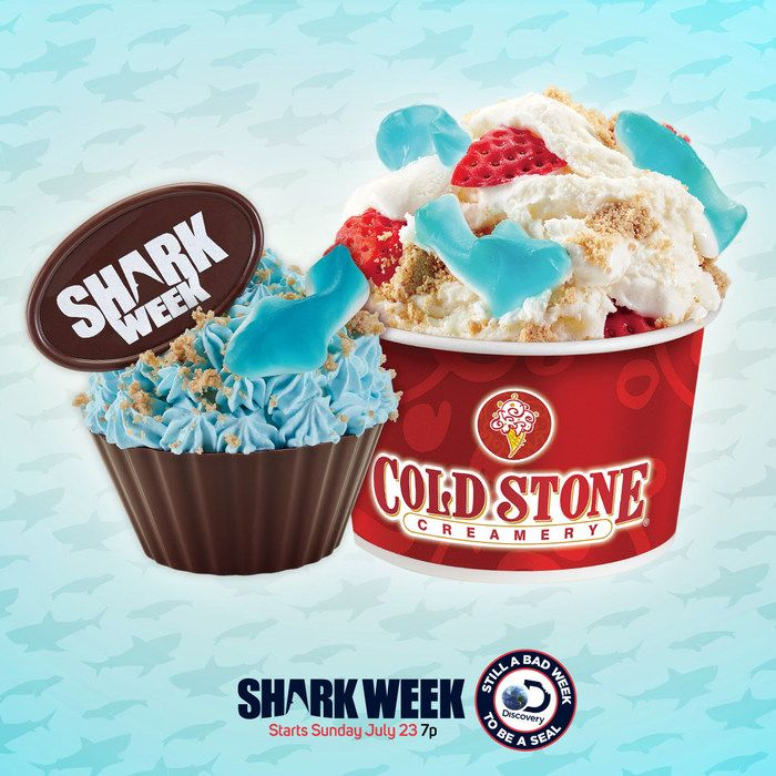 Image result for cold stone creamery shark week 2017