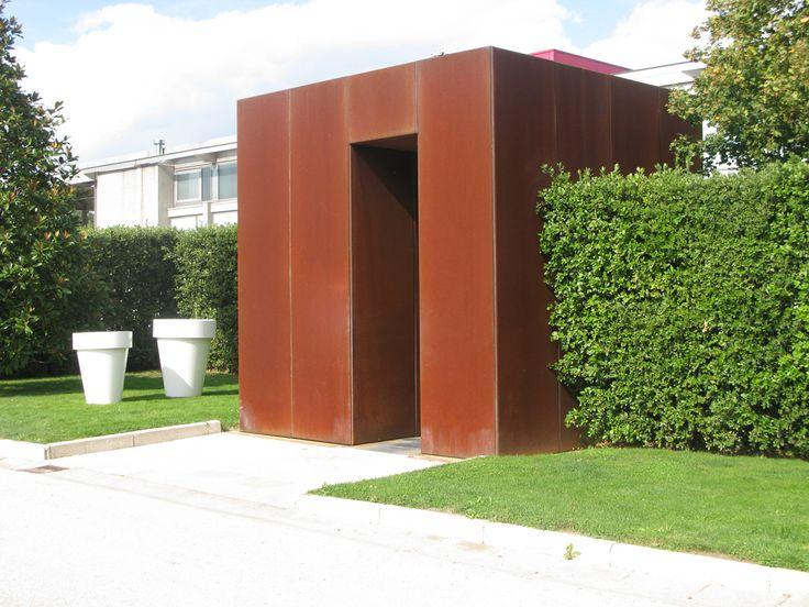 192 beste afbeeldingen van cortentstaal cement doors en outdoor living - Architectuur staal corten ...