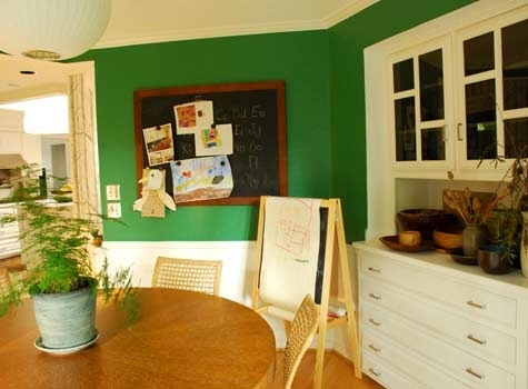 Kelly green dining room our living room pinterest for Kelly green decor