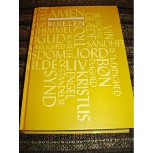 Danish Bible / BIBELEN / Den Hellige Skrifts Kanoniske Boger / 2010 Print / Ordforklaringer, Forkortelser, Appendiks, Maps  $99.99