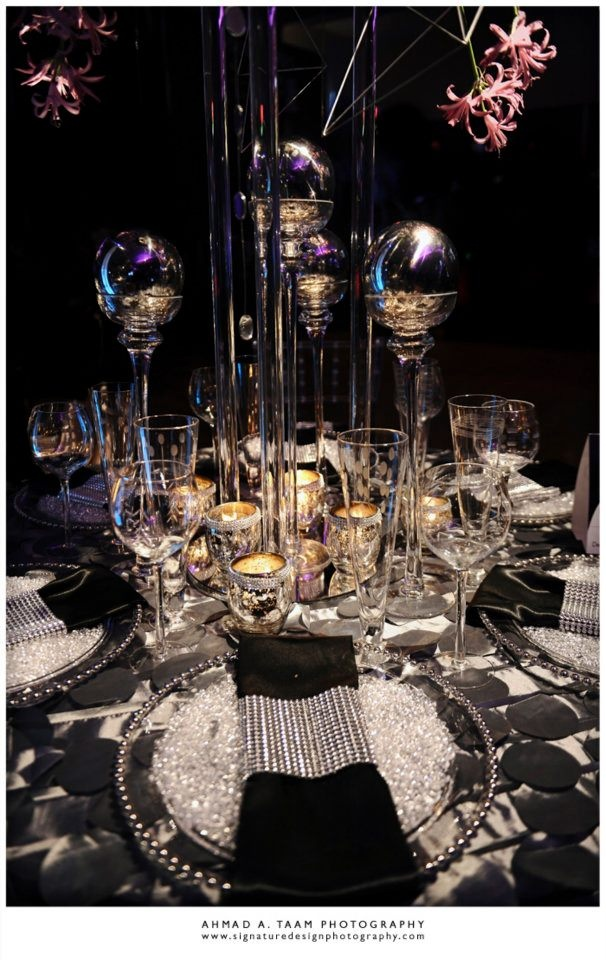 Best Black White And Bling Party Theme Image Collection