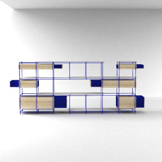 Pour un artiste contemporain, installé dans un chalet situé en plein cœur de la Tarentaise, le studio parisien A + A Cooren a imaginé un cabinet de curiosité comme un véritable meuble exposant les trouvailles et les trésors de son commanditaire....