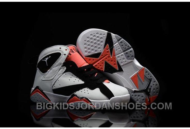 http://www.bigkidsjordanshoes.com/new-2016-nike-air-jordan-7-retro-gs-white-black-red-sneakers-kids-basketball-shoes-705417130.html NEW 2016 NIKE AIR JORDAN 7 RETRO GS WHITE BLACK RED SNEAKERS KIDS BASKETBALL SHOES 705417-130 Only $85.00 , Free Shipping!