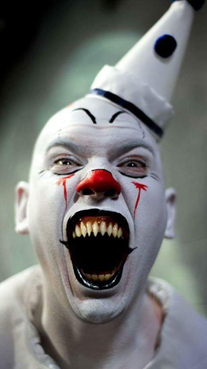 Creepy Evil Clown