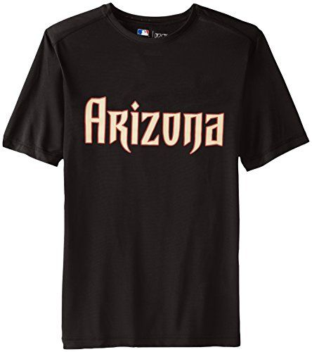 MLB WordMark Short sleeve Synthetic Tee  https://allstarsportsfan.com/product/mlb-wordmark-short-sleeve-synthetic-tee/  Hit a style home run in the stylish Word Mark tee by Majestic; Comfortable Synthetic Crew Neck Tee with Wicking, proudly shows off who your favorite MLB team is LICENSED MENS MLB SHORT SLEEVE CREW NECK SYTH TEE 100% POLYESTER JERSEY WITH WICKING