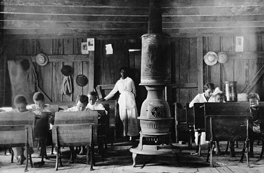 Photos Of The Early 1900s African American School Near