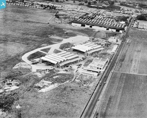 Croydon Aerodrome, Croydon, 1928