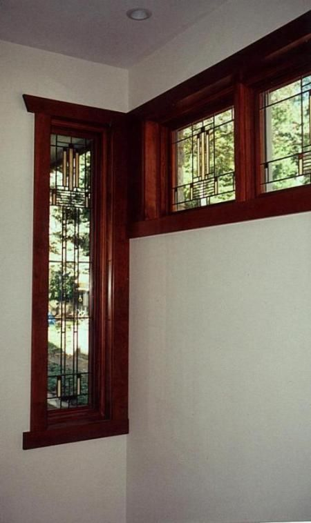 286 best american foursquare images on pinterest for Craftsman home windows