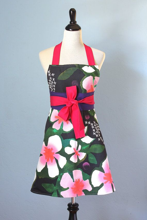 Tropical Dreams Full Apron Bold Color For Women With Ikea
