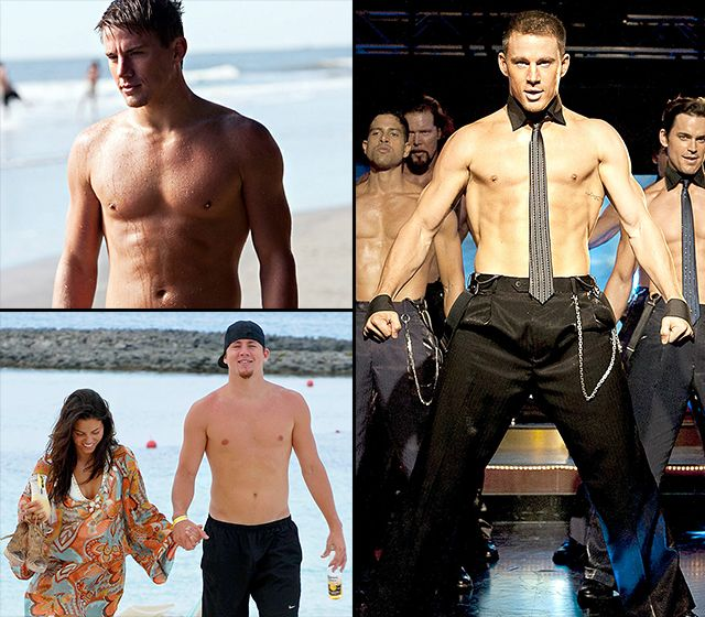 In honor of Channing Tatum's 34th birthday tomorrow, we've rounded up his hottest shirtless moments