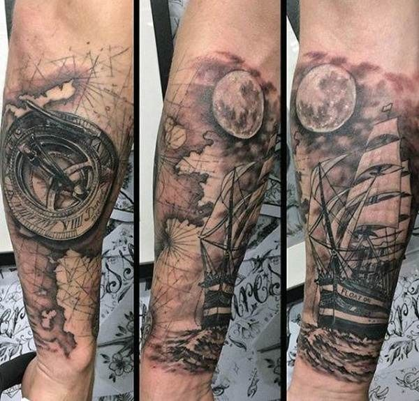 Super 110 Best Compass Tattoo Designs Best Designs Compass Super Tätowierun Kompass Tätowierungs Design ärmeltätowierungen Nautische Kompass Tattoo