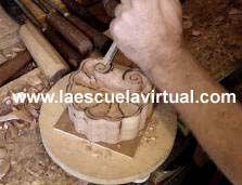 Como hacer una escultura en madera, tallado en madera, talla en madera, tallando una figura humana, como hacer un arcangel de madera