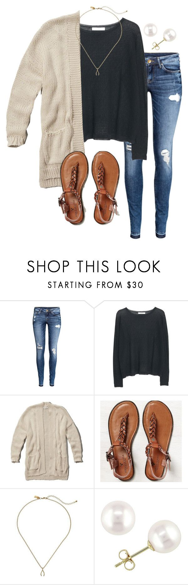 """""""Ootd: Christmas shopping at the mall """" by madelyn-abigail ❤ liked on Polyvore featuring H&M, MANGO, Abercrombie & Fitch, American Eagle Outfitters, Kate Spade and Miadora"""