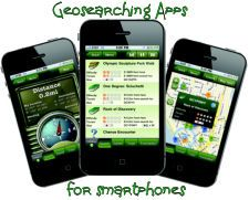 Smartphone, including iPhone geocaching apps - top 3 picks that work best