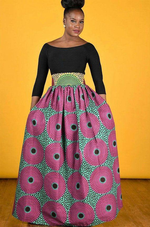 ... Print Skirt on Pinterest | African Prints, Ankara and African Fashion