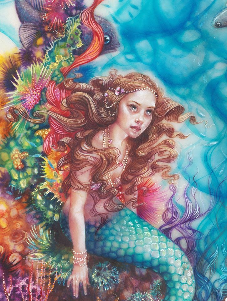 Release around October 2015 'Little Mermaid'. It is gorgeous and selling fast even before release