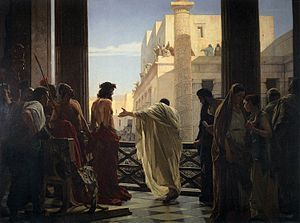 What if Pontius Pilate were tried for crimes at The Hague?
