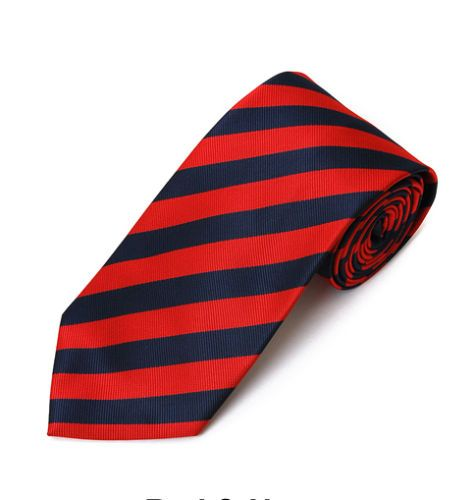Lord R Colton $79 Oxford Collection Red Navy College Stripe Tie New | eBay
