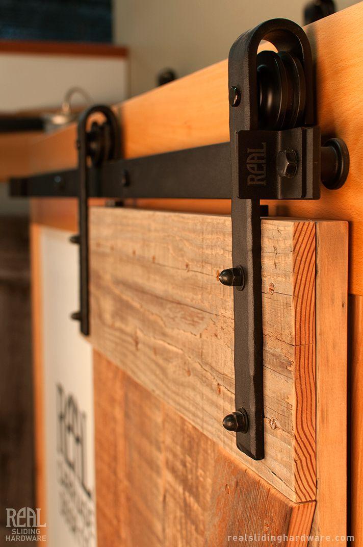 Hammered Barn Door Hardware Kit Hardware Doors And Barn