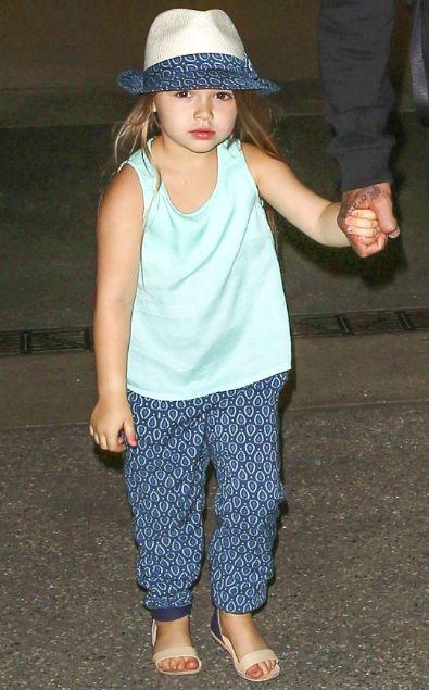 Harper seven beckham celebrity baby scoop blog