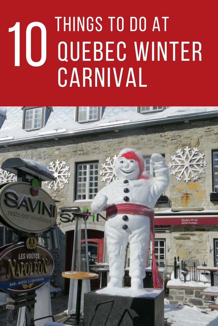 10 Things to do at the Quebec Winter Carnival - Winter fun for all ages at the Carnaval de Quebec in Quebec City, Canada | Gone with the Family | #explorecanada #quebecoriginal #quebecregion #quebeccity #quebeccarnival #wintercarnival #winter #familytravel #quebec