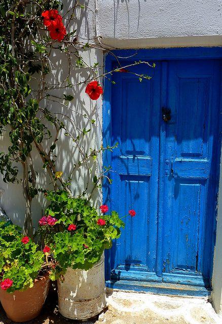Chora, Kythnos island, Cyclades, Greece