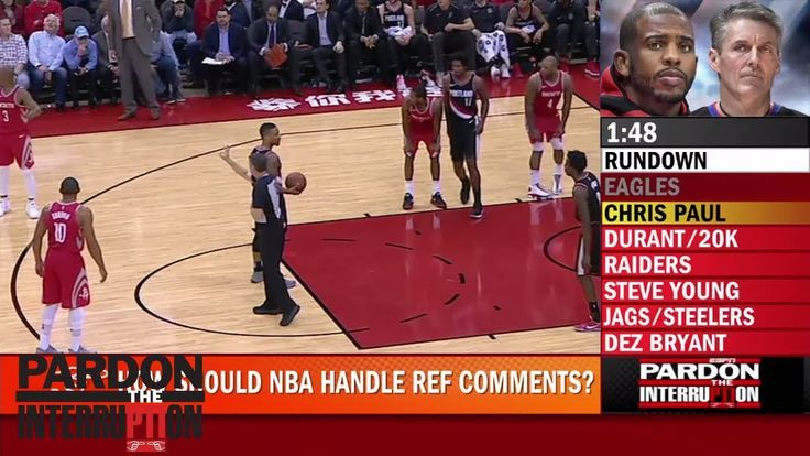 #news#WorldNewsHow should the NBA handle the tension between players and referees?   PTI   ESPN