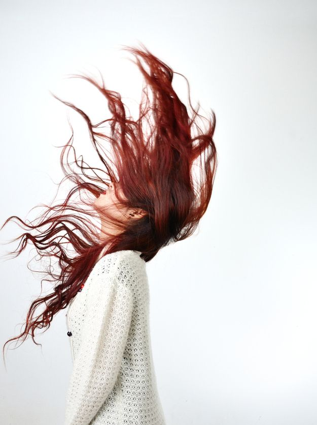 And wait a couple of days after coloring before you wash it. | How To Keep Dyed Red Hair Actually Red