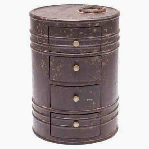 17 best images about 55 gallon oil drum on pinterest for Metal 55 gallon drum