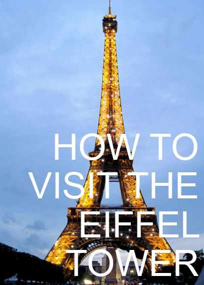 Best tips for visiting the Eiffel Tower in Paris and avoiding the lines. #travel #france