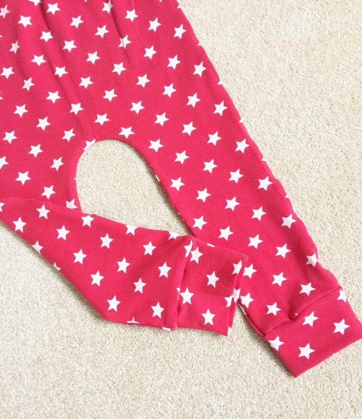 Red Stars Festive Christmas Leggings - Made to Order